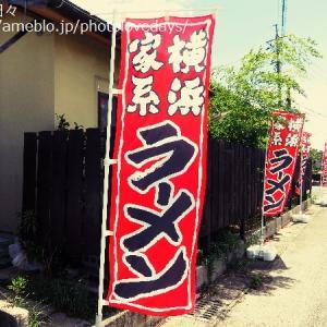 【米子市】麺固め!味濃いめ!油多め!これぞ家系ラーメン!/横浜家系ラーメン伯耆家