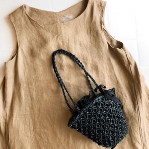 小さなバッグは可愛い。