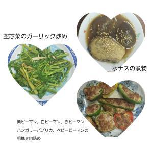 無農薬野菜を使った料理イロイロ