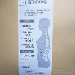 2019.10.19 股関節変形症と脊柱管狭窄症