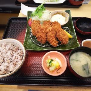 2019.10.22 大戸屋ごはん処FKDインターパーク店☆牡蠣フライ定食