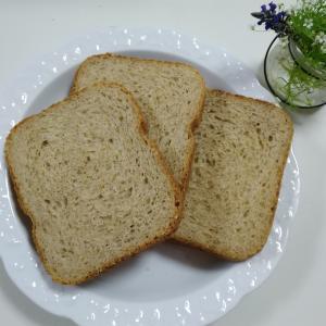 【ホームベーカリー】豆乳とゴマたっぷり 欲張りなヘルシー全粒粉食パンの作り方