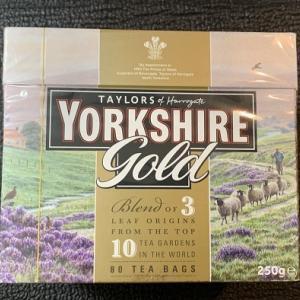 2019イギリス旅行記その58(お土産22 Taylors of HarrogateのYorkshire Gold)