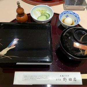 (2回目)特別食堂で晩御飯@日本橋三越