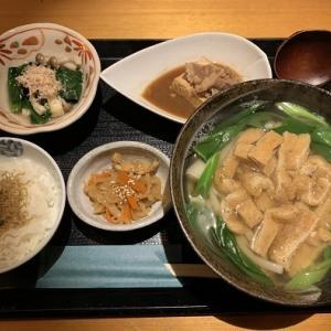 (4回目)京うどん きつね庵で晩御飯@銀座