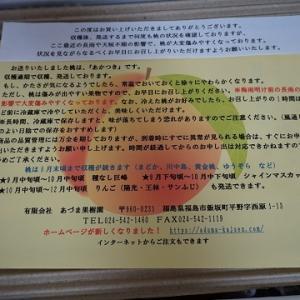 (2回目)あづま果樹園の桃リピート!!
