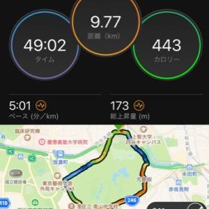 御所練チャレンジ33と防府マラソン
