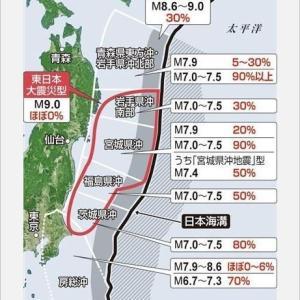 311 地震の予兆 感知予知