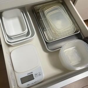 キッチン整理◆収納はパズルですね…