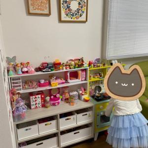 子供と断捨離◆ニトリで片付くおもちゃ棚の整理♪