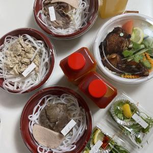 テイクアウト◆念願おうちベトナム料理とショックなこと…