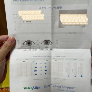 3歳娘が初体験◆視力スクリーニング検査!