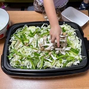 ホットプレートで炊き焼肉◆簡単美味!子供も手伝いやすい〜!