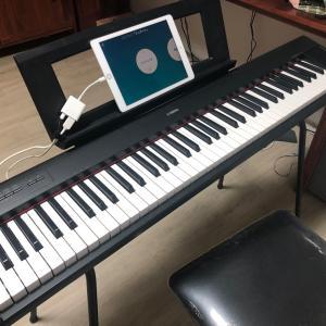 ピアノ始めました。