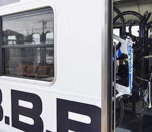 NHKBS1 【B.B.BASE】 Japan Railway Journal「自転車 JR東日本の取り組み」