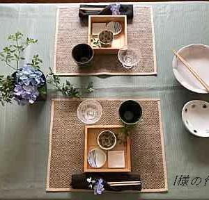 生徒様の作品 ご高齢のご家族との食卓風景