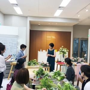 【ご報告】NIKKOxJDCAスペシャルセミナー(東京)植物装飾セミナー