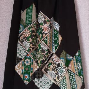 黒留袖スカート