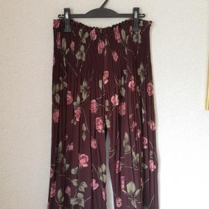 ギャザースカートをパンツに 2
