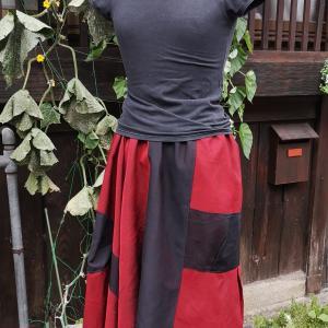 紗でスカート
