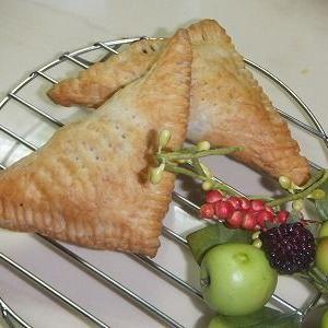 ♪今日の三角パイはあんこ~&夕飯・お弁当&パピヨンズ♪