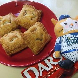 ♪野球が恋しいチョコパイ&夕飯・お弁当~&花とネコ♪