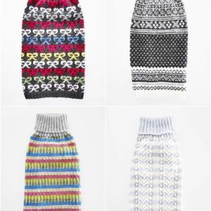 「わんこセーター」と「お揃いバッグ」