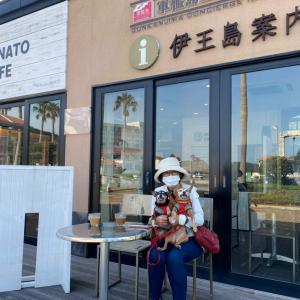 伊王島内4つあるカフェ2つへ GO~♪