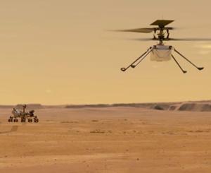宇宙ドローン初飛行へ!火星でヘリコプターを飛ばす難しさ