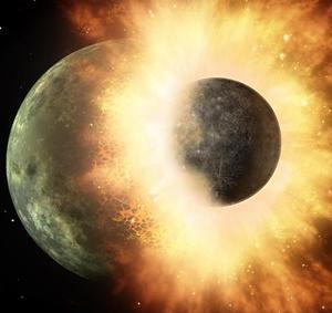 原始地球に衝突したジャイアント・インパクトは本当だった?