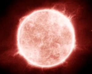 おおいぬ座VY星の寿命で超新星爆発を起こす可能性と見え方