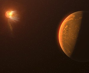 地球に一番近い太陽系外惑星は生命の存在が絶望的な可能性