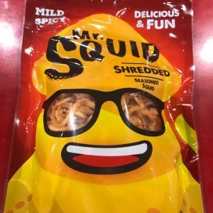 【オーストラリアコストコ】 辛い!さきいか Mr.Squid