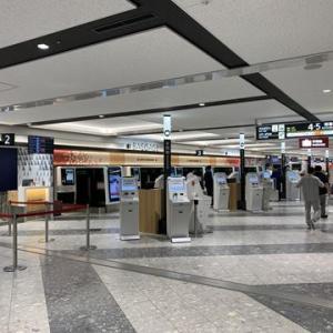新千歳空港のサクララウンジで一休み
