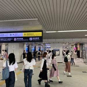御堂筋コンコースから大阪駅JR高速バスターミナルへ