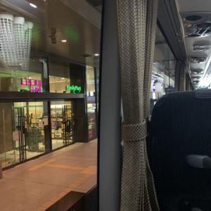 バスに揺られて梅田から京都へ