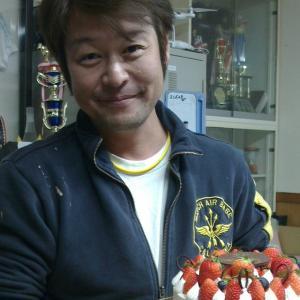 イチゴ大盛りのケーキ☆