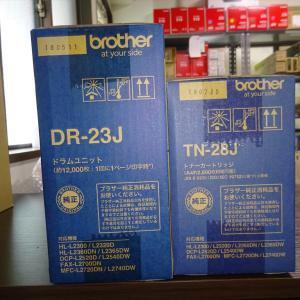 【買取商品】brother ブラザー 純正品 トナーカートリッジ DR-23J/TN-28J