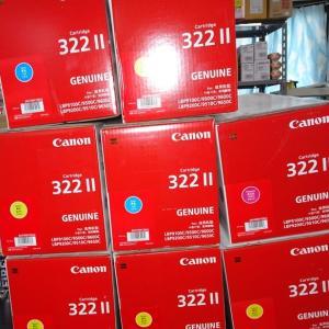 【買取商品】CANON キャノン 純正品 トナーカートリッジ 322ⅡC/M/Y