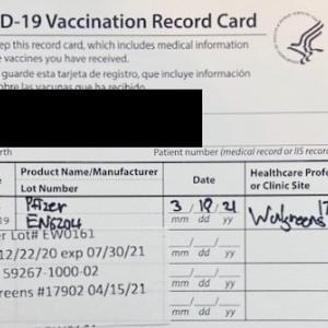 Pfizerワクチン二回目