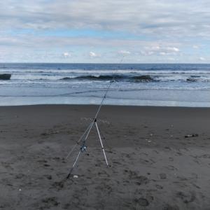 大竹海岸で釣り