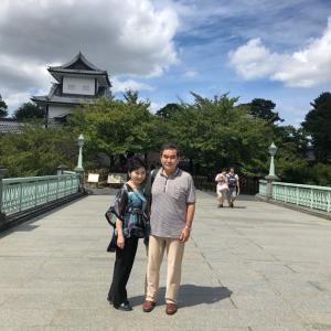 金沢観光へ