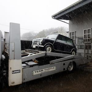 雪でも雨でもひとっ走り〜