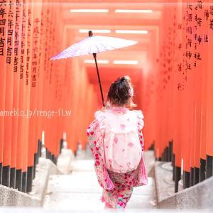 七五三♡日枝神社(赤坂)、木曽路での体験談♡2018年10月♡メゾピアノの着物で♡