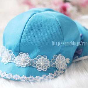 幼稚園♡カラー帽子デコレーション