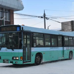 阿寒バス 釧路200か541 レインボーHR