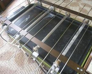熱源電気で専用魚焼き完成