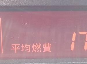 7/18-19プレマシー実燃費(滋賀⇔越前)