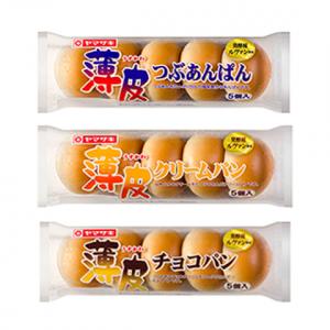 ヤマザキのちっこいパンが5個入ったシリーズwww