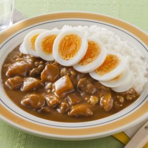 【朗報】カレーのトッピング、ゆで卵が首位